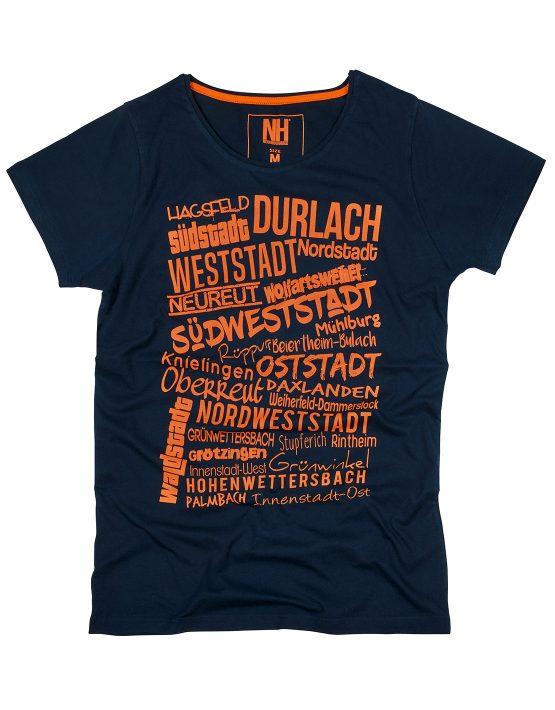 Karlsruhe T-Shirt Navy