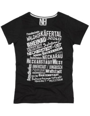 Mannheim T-Shirt Schwarz