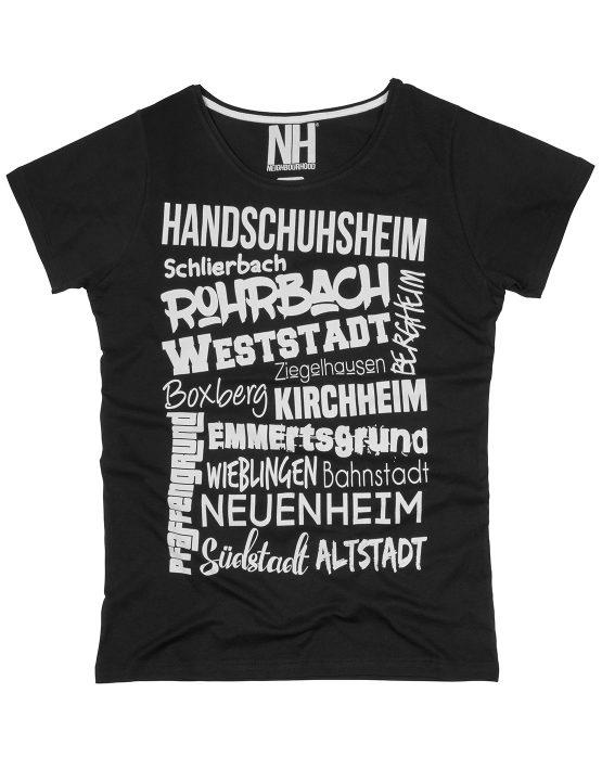 Heidelberg T-Shirt Schwarz