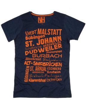 Saarbrücken T-Shirt Navy