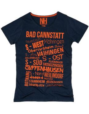 Stuttgart T-Shirt Navy