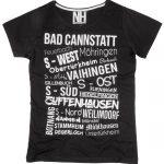 Stuttgart T-Shirt Schwarz