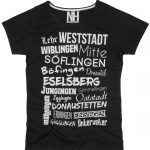 Ulm T-Shirt Schwarz