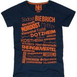 Wiesbaden T-Shirt Navy
