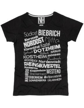 Wiesbaden T-Shirt Schwarz