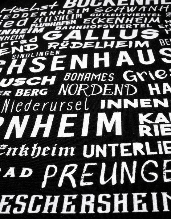 Frankfurt T-Shirt Schwarz