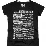 München T-Shirt Schwarz