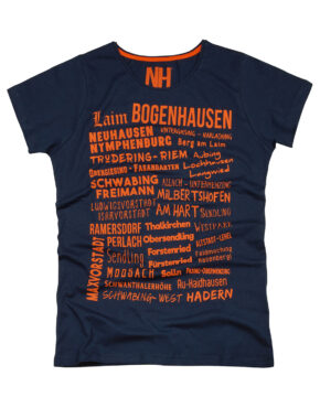 München T-Shirt Navy