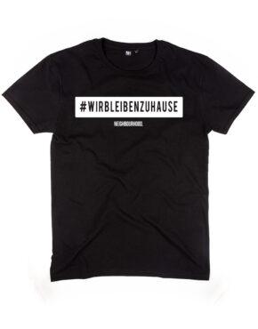 #wirbleibenzuhause T-Shirt